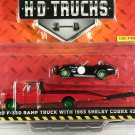 GreenLight GREEN MACHINE Ford F-350 Ramp Truck with 1965 Shelby Cobra 427 S/C - H.D. Trucks S8