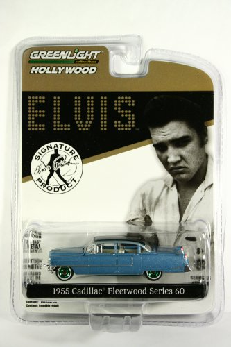 GreenLight GREEN MACHINE 1955 Cadillac Fleetwood Special 60 Series Elvis Hollywood S16