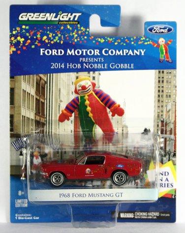 GreenLight 1968 Ford Mustang Hob Nobble Gobble PROMO