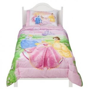 Disney Princess Jeweled Fantasy Twin Comforter Set