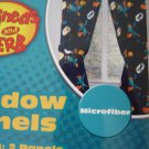 Phineas and Ferb Window Curtains, Drapes