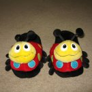 Cute Lady Bug Slippers Sz. 7/8 M
