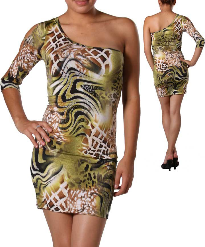 Sexy Dress in Animal Print