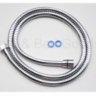 NEW AMMA 1.5M Stainless Steel Flexible shower Faucet Water Supply Hoses