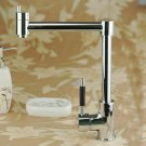 Contemporary Chrome Finish One Hole Single Handle Kitchen Faucet 8499A