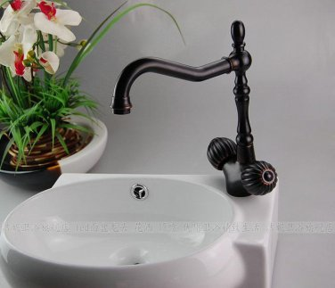 Solid Brass swivel Kitchen Faucet - 8622  ORB  finish