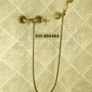 NEW** wall mount shower  Faucet antique brass finish sw-86048