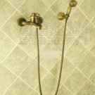 NEW** wall mount shower  Faucet antique brass finish sw-86046