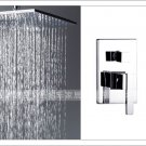NEW**ceiling mount Super rainfall shower  Faucet  chrome finish 5859-40