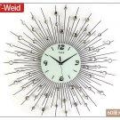 """24"""" Modern Design Iron Wall Clock"""