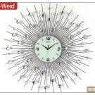 """32"""" Modern Design Iron Wall Clock"""