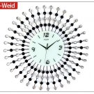 Modern Peacock Metal Wall Clock-Ⅲ