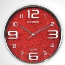 "12"" Modern Stainless Steel Wall Clock"
