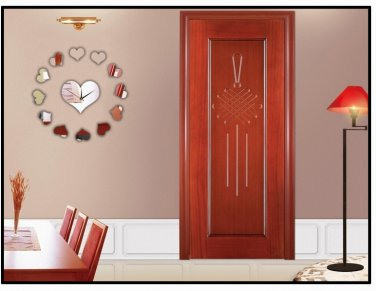 Mirror Surface Wall Clock 002
