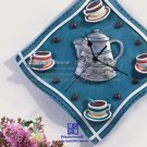 Coffee Theme Polyresin Wall Clock