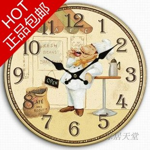 Country House Wall Clock 0010
