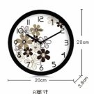 "8""Country Theme Metal Wall Clock 191"