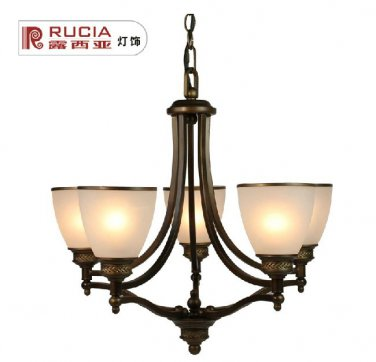 Iron Chandelier with 5 Lights in antique styles-9