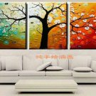 Hand-painted Abstract Oil Painting with Stretched Frame F7101