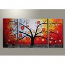 Hand-painted Abstract Oil Painting with Stretched Frame F7201