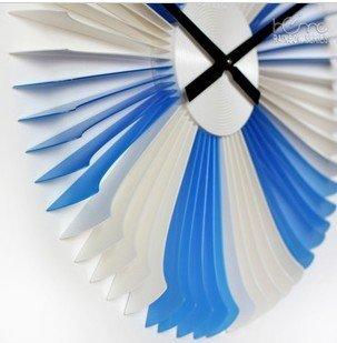 DIY Romantic Mediterranean Style Plastic Wall Clock