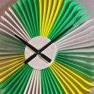 DIY Vienna's Spring Style Plastic Wall Clock