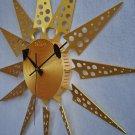 Moderan Triangle Aluminum Wall Clock - G