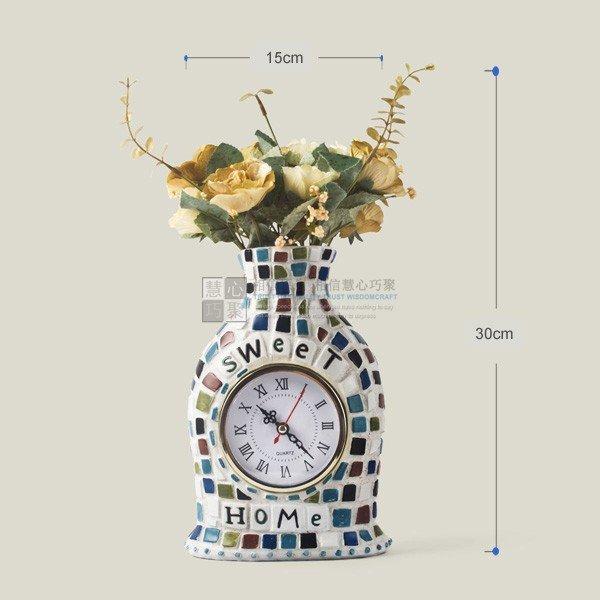 Modern Style Mediterranean Wall Clock