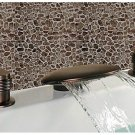 Oil Rubbed Bronze Antique Widespread Waterfall Bathroom Sink Faucet 1086