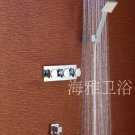 NEW**wall mount LED rainfall tub Faucet with hand shower chrome finish 1092