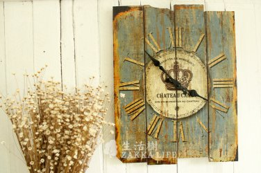 Country Style Wall Clock - HG