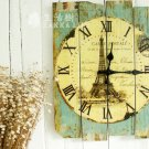 Country Style Wall Clock - TT