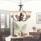 European Transitional Chandelier Light with 6 Lights Up in Urban Style CH076-6-41