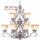 European Transitional Chandelier Light with 12 Lights Up CH002-12-06