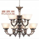 Luxuary chandelier Light with 10 Lights Up CH078-12-41