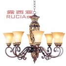 European-Style Classic 8 Light Chandelier CH022-8-15