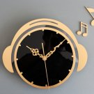 "12.5""H Fashion Acrylic Wall Clock - GOLDEN"