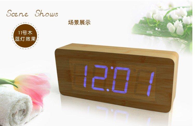 Voice Control Alarm Clock - CYB02