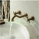 NEW Antique Inspired Bathroom Sink Faucet (Polished Brass Finish) 2051