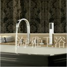 Contemporary Brass Tub Faucet with Hand Shower - Chrome Finish 2056
