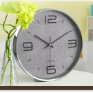 "12""H Modern Style Brief Mute Wall Clock - LEYU8014-2"