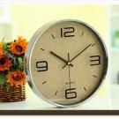 """12""""H Modern Style Brief Mute Wall Clock - LEYU8014-6"""