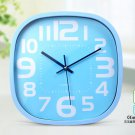 """12""""H Brief Oval Mute Wall Clock - LEYU6393-2"""