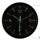 "12""H Brief round Modern style Mute Wall Clock - LEYU6003-1"