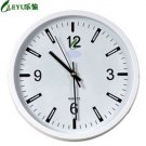 "12""H Brief round Modern style Mute Wall Clock - LEYU6003-2"