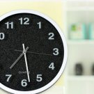 "12""H Brief Round Mute Wall Clock - LEYU6301-1"