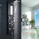 Stainless steel Rainfall Shower Panel Tower Tub Faucet Spout 6 Body Massage Jets ML-8821