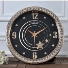"15""H Large Stereo Number Wall Clock With Jewelry Decoration -JEBELY/GE416-01A"