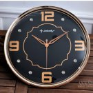 "14""H Mute High-class Wall Clock With Jewelry Decoration -JEBELY/GE411-01A"