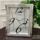 "16.5""H Wordart Mute Wall Clock With Jewelry Decoration -JEBELY/GE403-02A"